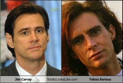 yahoo serious,totally looks like,funny,jim carrey
