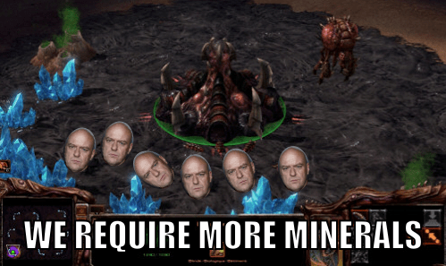 starcraft breaking bad minerals Zerg