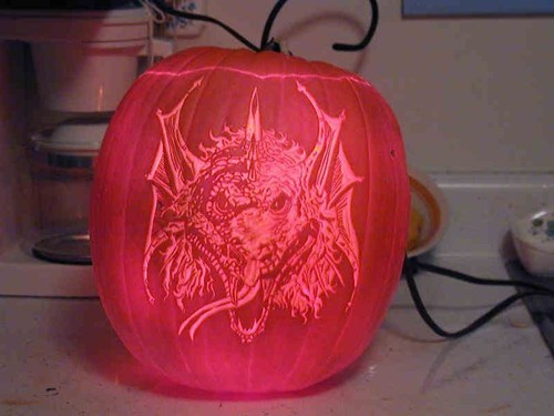 ghoulish geeks jack o lanterns g rated dragons - 7862119168