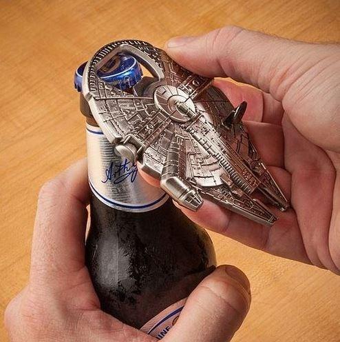 beer bottle opener Han Solo funny - 7862168576