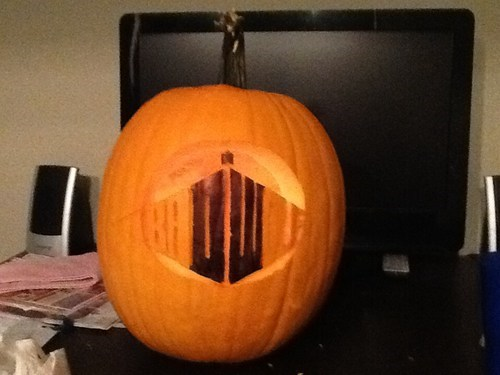 ghoulish geeks jack o lanterns g rated doctor who - 7862335744