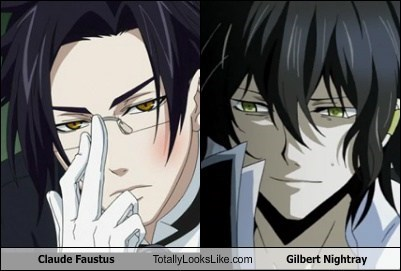 Claude Faustus Totally Looks Like Gilbert Nightray - Totally ...