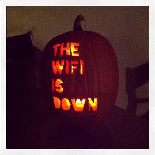 pumpkins halloween wifi - 7862855936