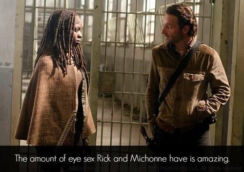 Rick Grimes michonne bedroom eyes The Walking Dead - 7862883584