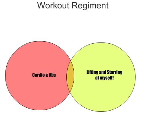 gym,venn diagram,working out