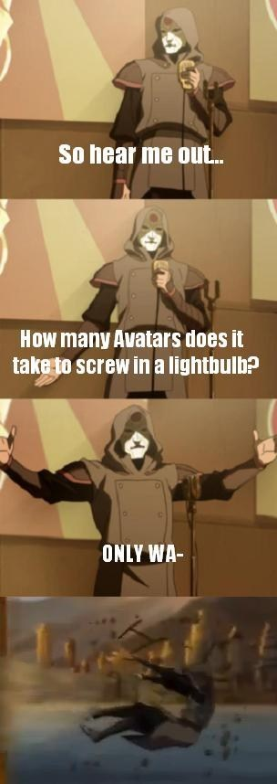 stand up amon wan Avatar korra - 7863138304