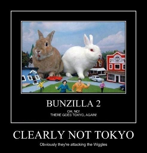 bunnies australia Wiggles funny - 7863244800