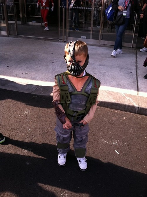 cosplay,kids,cute,bane,batman