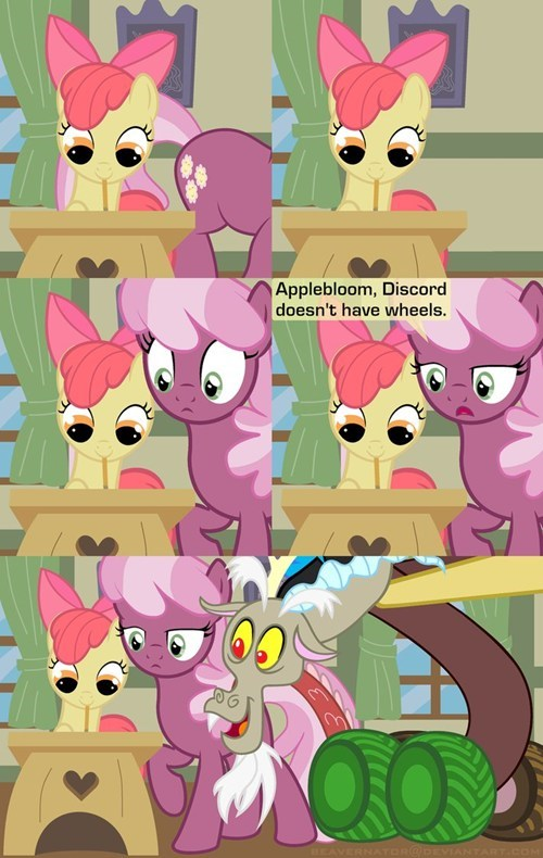 cheerilee discord apple bloom color outside the lines - 7863273728
