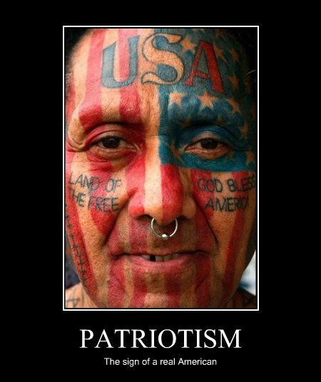 usa patriot americana tattoo - 7863322880