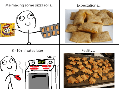 baking pizza rolls snacks - 7863482624