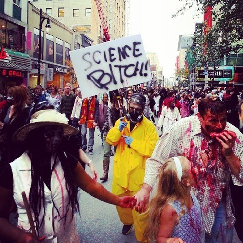 costume halloween science funny zombie walk School of FAIL - 7863615488