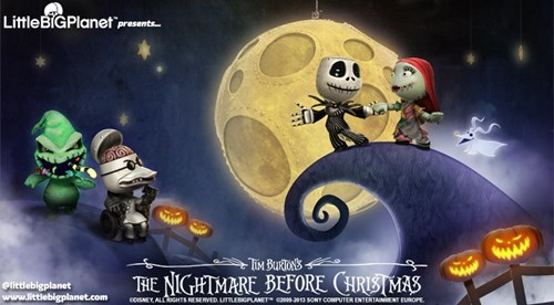 playstation news nightmare before christmas Sony LittleBigPlanet Video Game Coverage - 7863689984