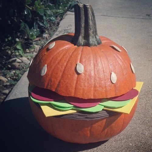 pumpkins jack o lanterns g rated burgers - 7863773184