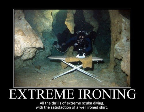 scuba,wtf,ironing,funny
