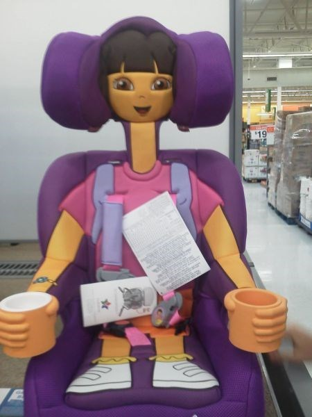 kids,car seats,parenting,dora the explorer