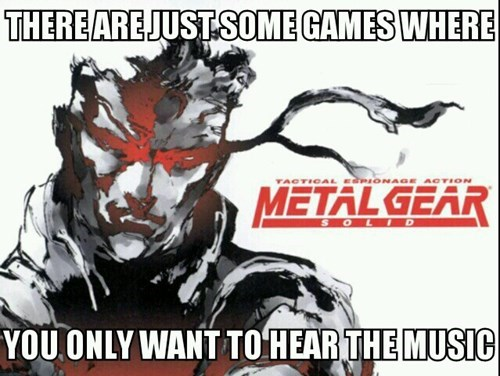 Music metal gear solid nostalgia VGM video games - 7863800320