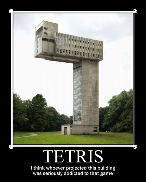 wtf buildings video games tetris funny - 7863812096