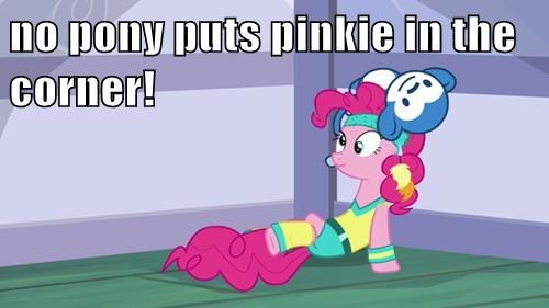baby in a corner pinkie pie MLP no pony dirty dancing - 7863881728
