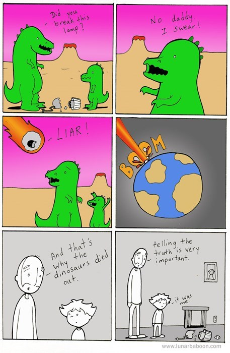 the truth,funny,dinosaurs,web comics