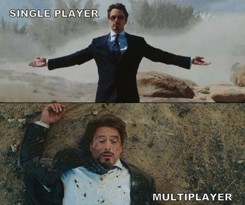 Multiplayer,online gaming,iron man,single player