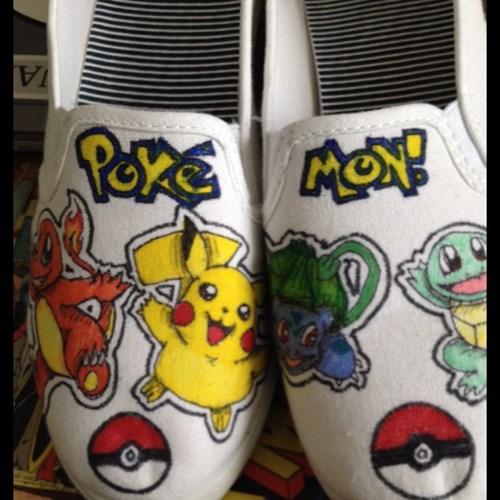 shoes Pokémon DIY - 7863985664