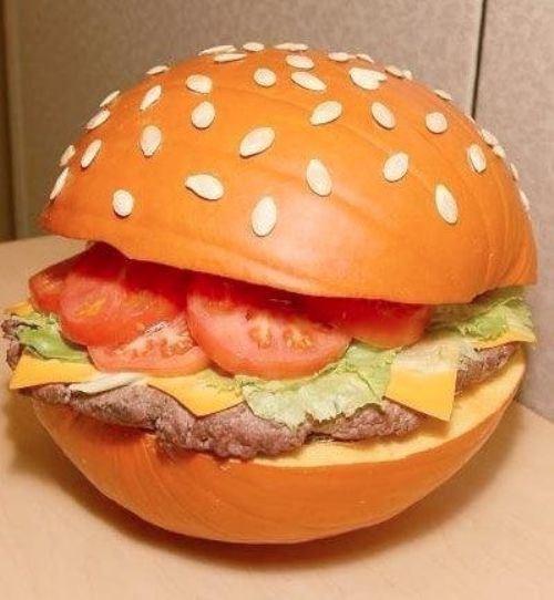 pumpkins halloween cheeseburger - 7864015872