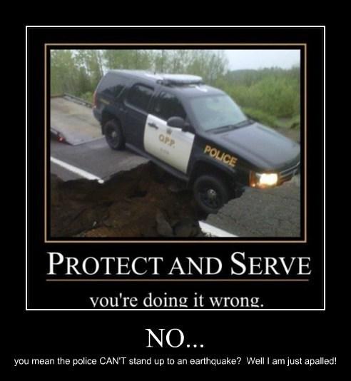 earthquake funny police - 7864054016