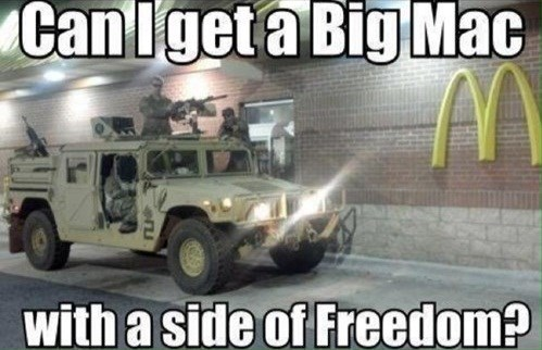 McDonald's military drive thru - 7864075520