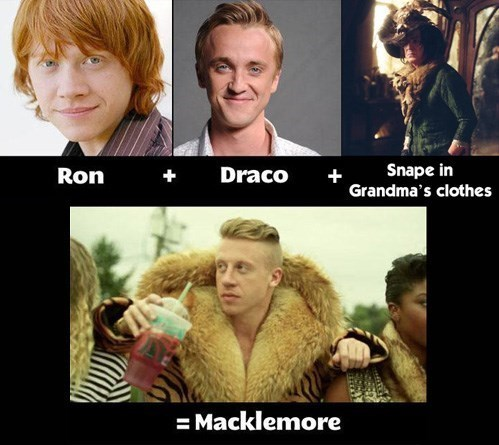 crossover Harry Potter Macklemore - 7864185856