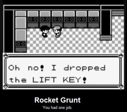 rocket grunt Team Rocket classic unemployment - 7864520448