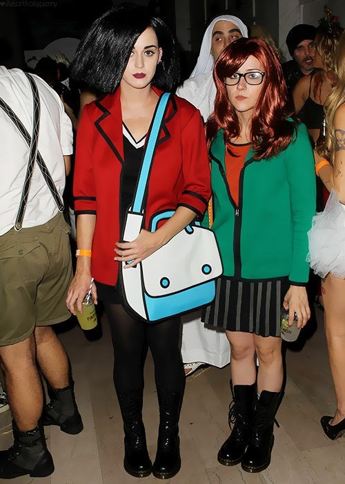 costume,katy perry,cosplay,halloween,daria,famously freaky,g rated