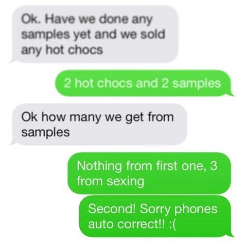 autocorrect,text,samples