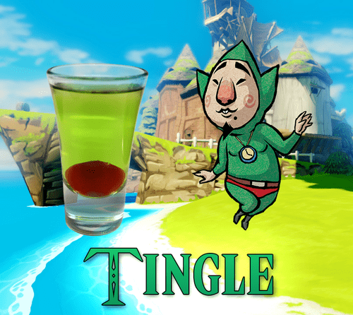 shots,nerds,legend of zelda,tingle,video games,windwaker