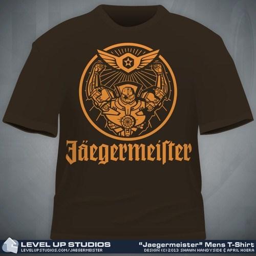 art,booze,T.Shirt,jagermeister,funny