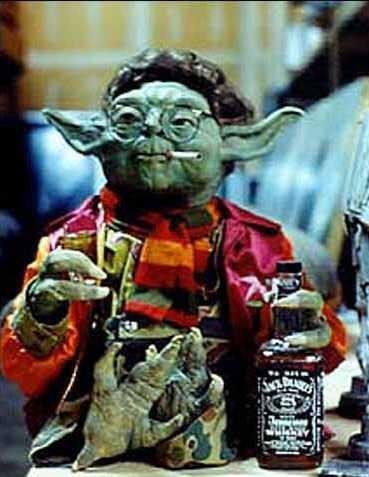 wtf star wars drunk yoda funny - 7865152768