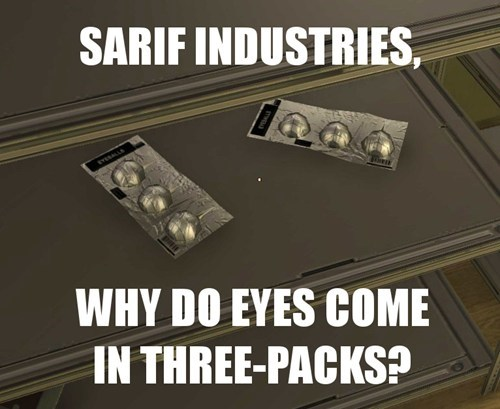 eyes,batteries,sarif industries,deus ex