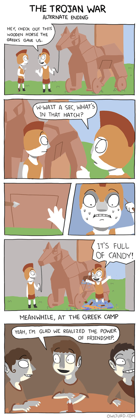 ponies history friends funny - 7865363712