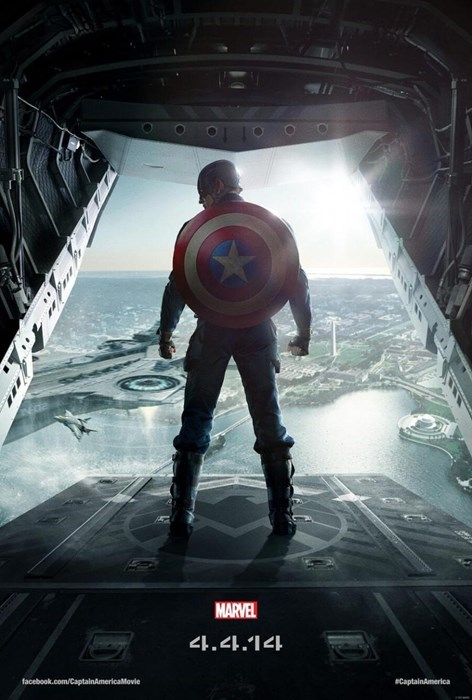 movie poster winter soldier captain america - 7865364480
