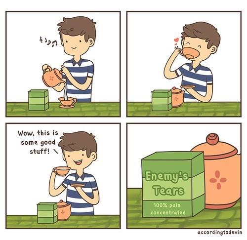 funny web comics enemy's tears - 7865368064