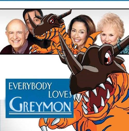 digimon greymon Everybody Loves Raymond - 7865388032