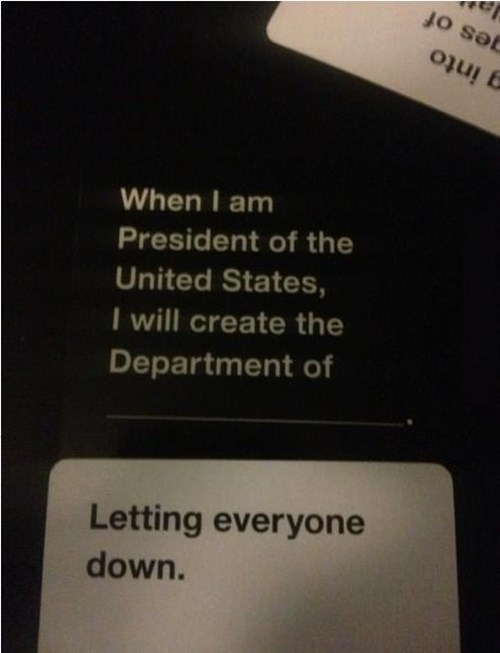 card game board game funny cards against humanity politics fail nation g rated - 7865421568