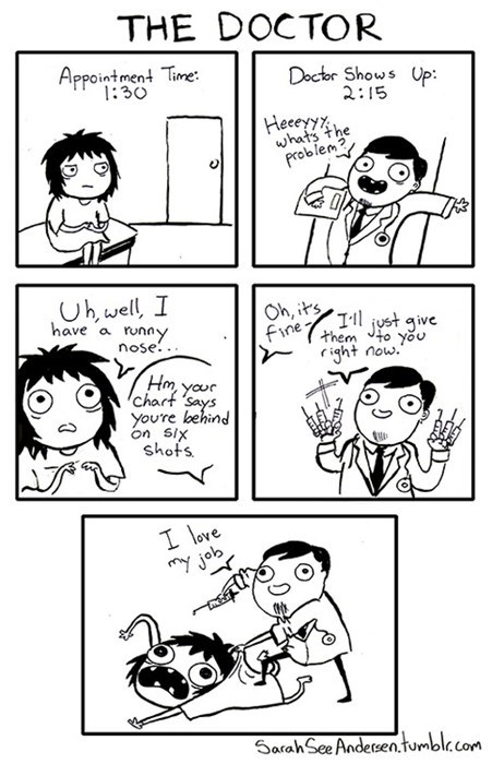 shots health care doctors funny web comics - 7865480960