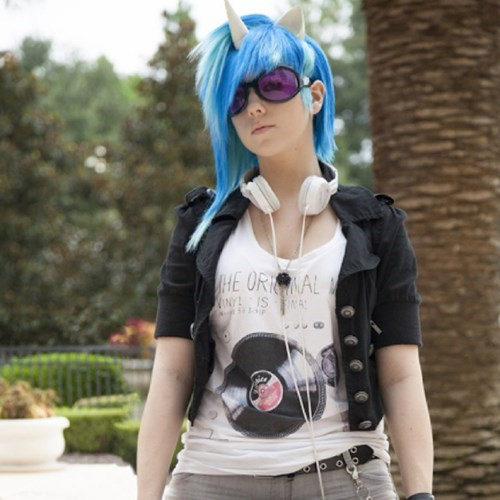 cosplay,MLP,vinyl scratch