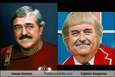 captain kangaroo totally looks like james doohan funny