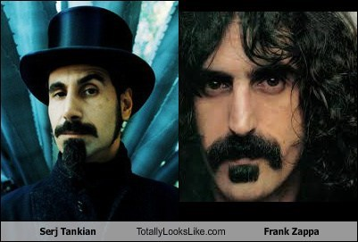 totally looks like,frank zappa,funny