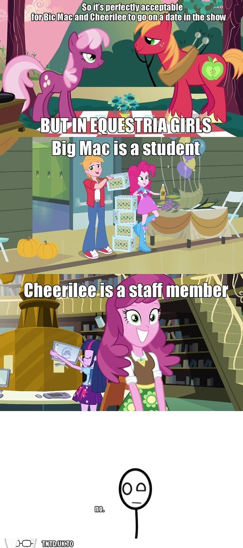 cheerilee Awkward big mac - 7865770752