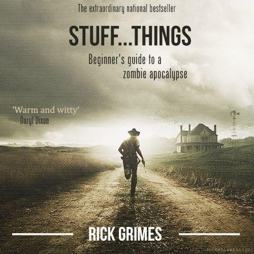 Rick Grimes bestseller The Walking Dead - 7865930496
