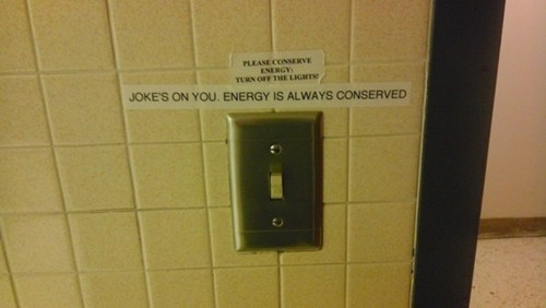 energy conservation,science,notes,funny