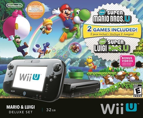 super mario bros u,wii U,bundles,nintendo,Video Game Coverage
